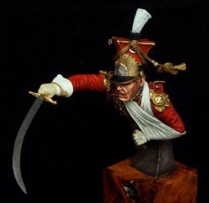 General Edouard de Colbert Bust - SALE Normal price £43